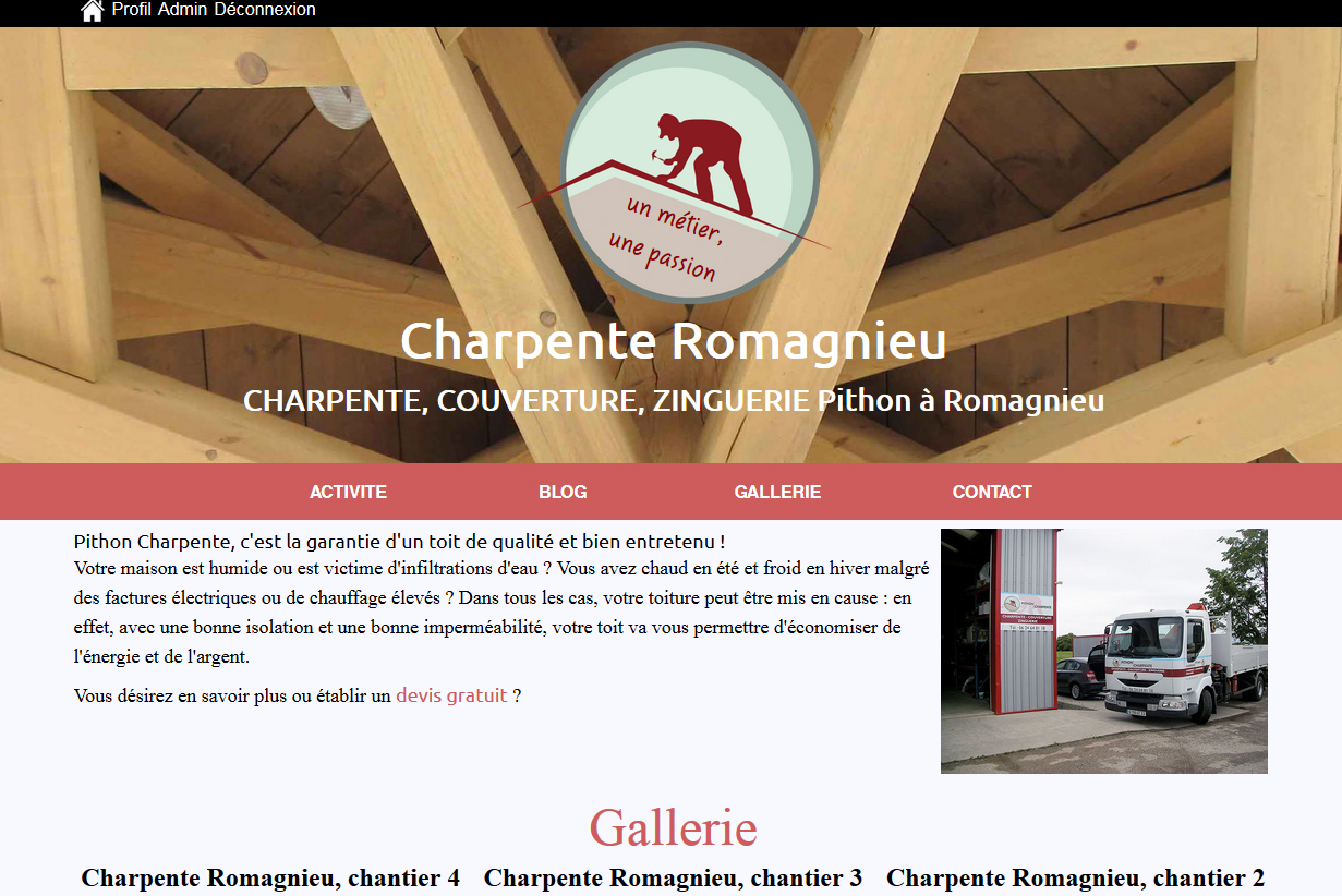 Charpente Romagnieu