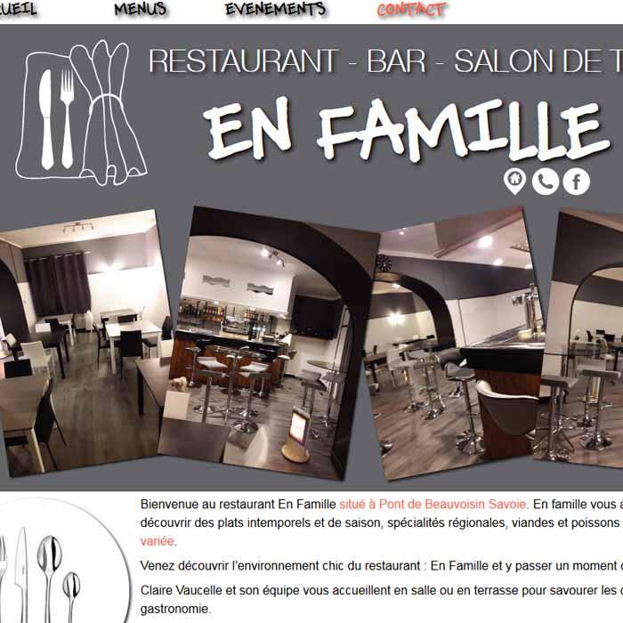 En famille, restaurant