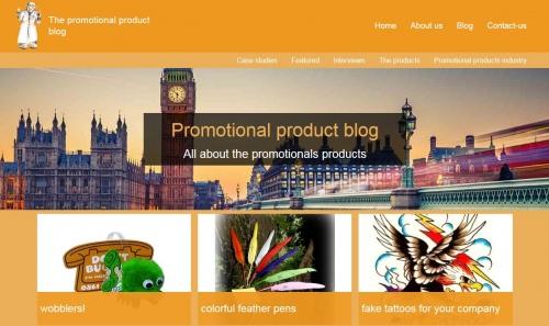 Les blogs de l'objet publicitaire