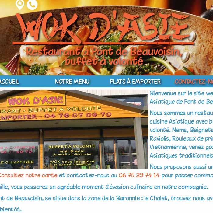 Restaurant Wok d'Asie