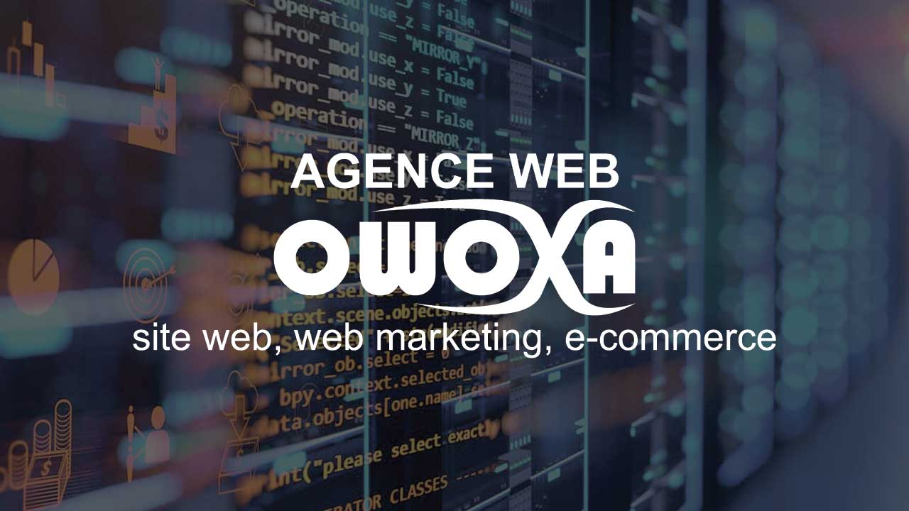 Agence web owoxa, site web, web marketing et e-commerce