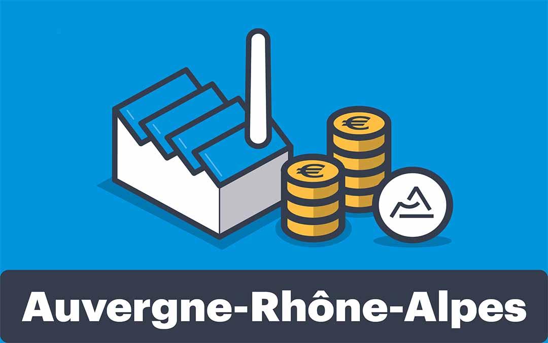 La région Auvergne Rhônes Alpes aide sur le numérique !