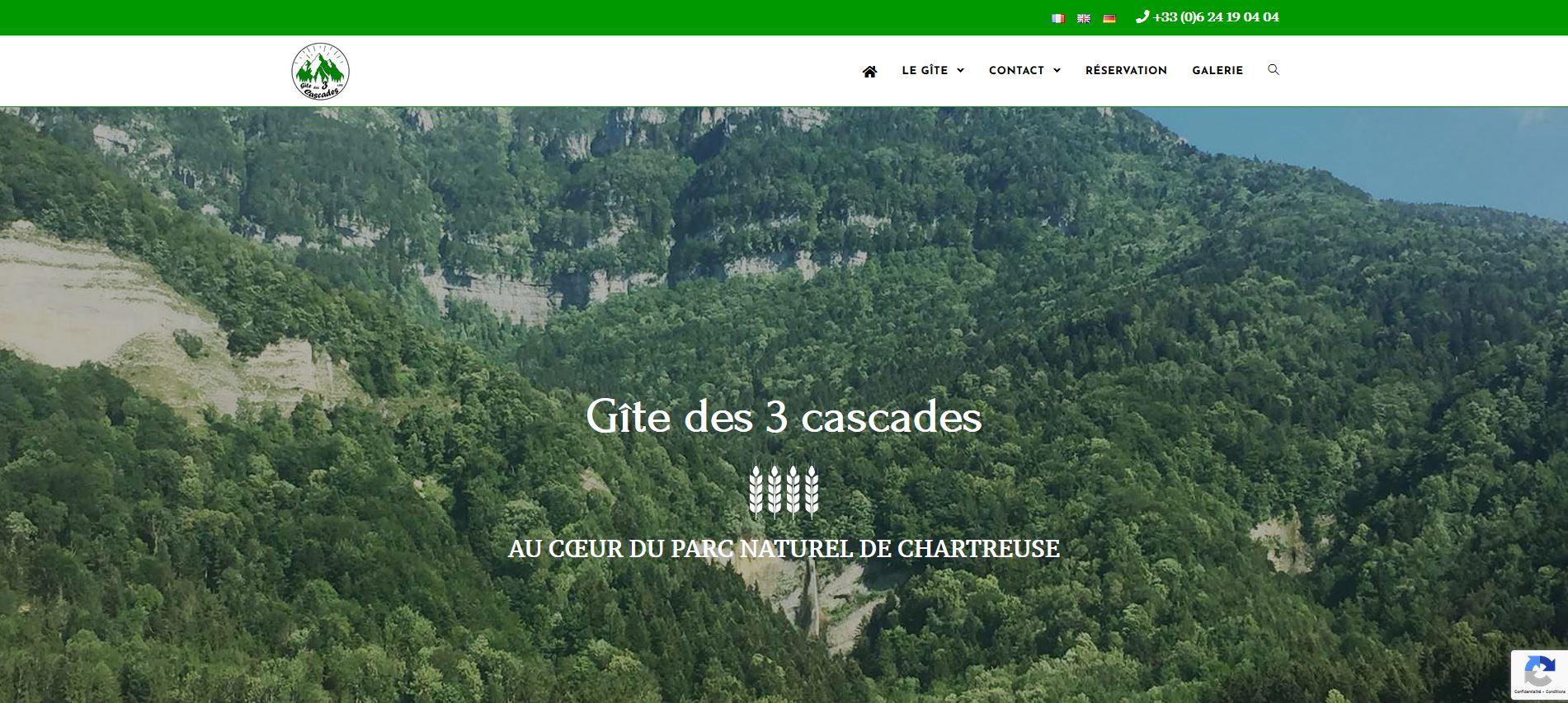 Read more about the article Le gîte des 3 cascades