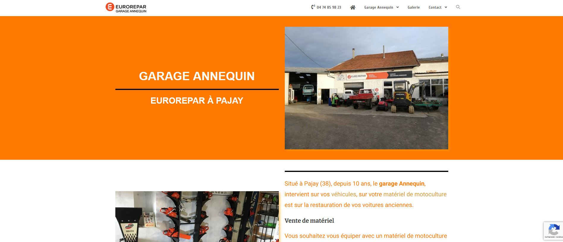 Read more about the article Garage Annequin
