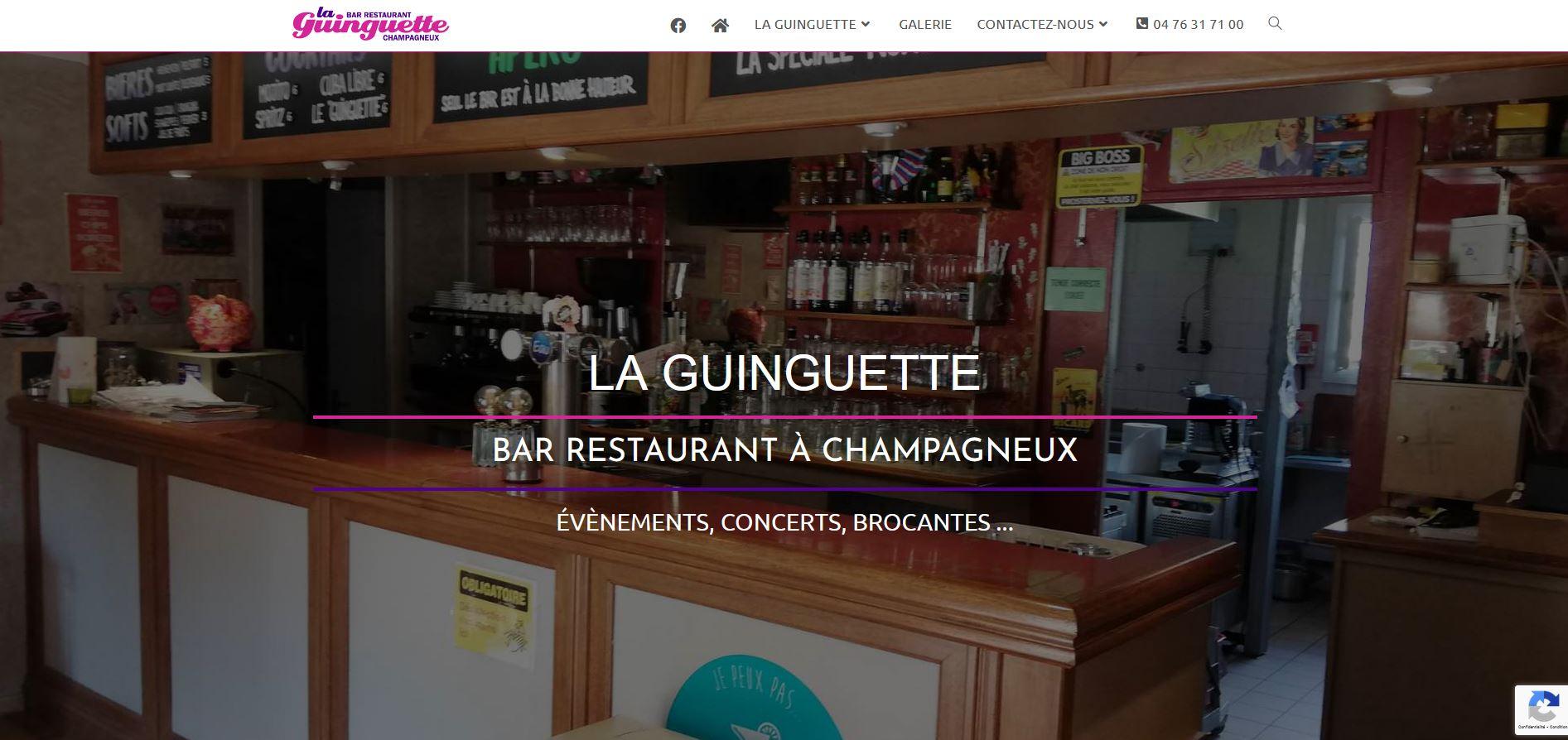 Read more about the article Bar restaurant la Guinguette