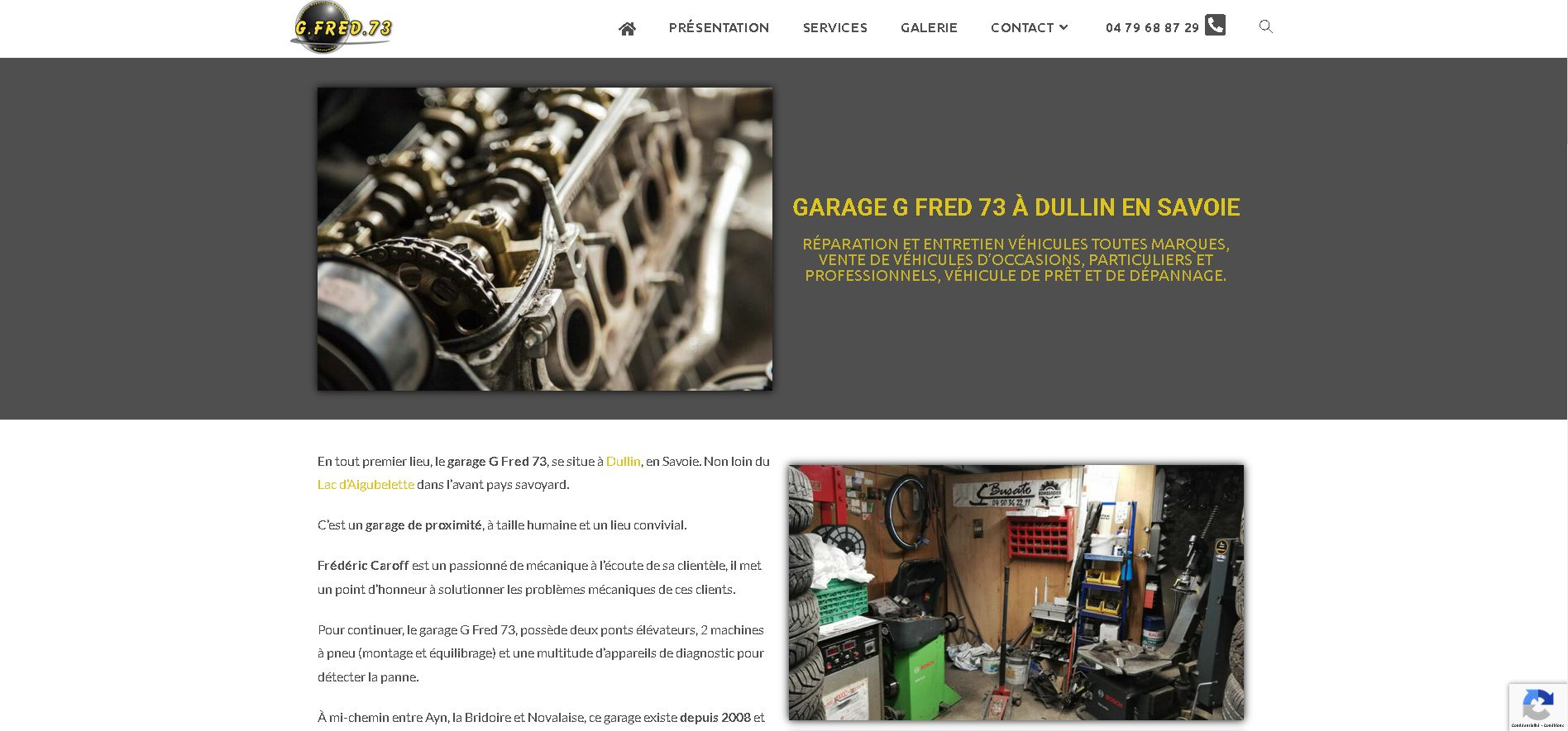 Read more about the article Garage G Fred 73